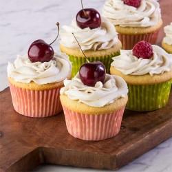 Yummy vanilla cupcake