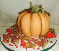 Amazing pumpkin cake