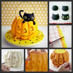 Awesome pumpkin cake