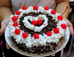 Black Forest cake idea