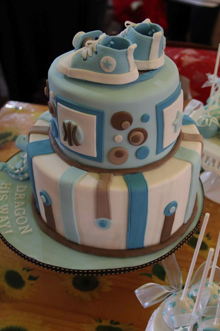 Celebrity Baby Shower Cakes