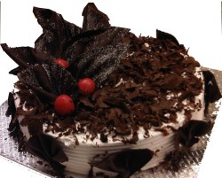 Delicious cake Black Forest
