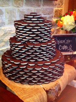Oreo cookie's cake