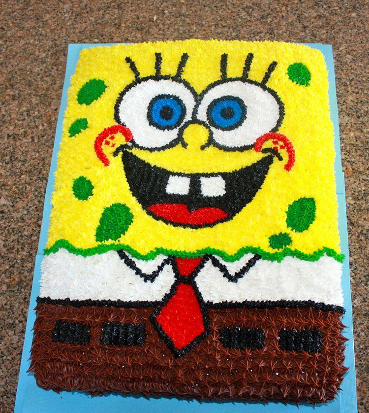 Spongebob Cake Decorations Ideas