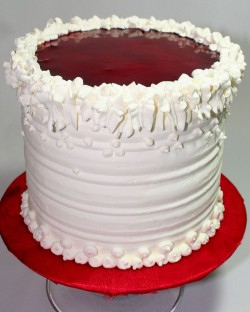 Tasty vanilla cake