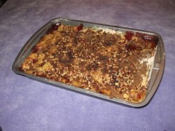 Traditional dump cake
