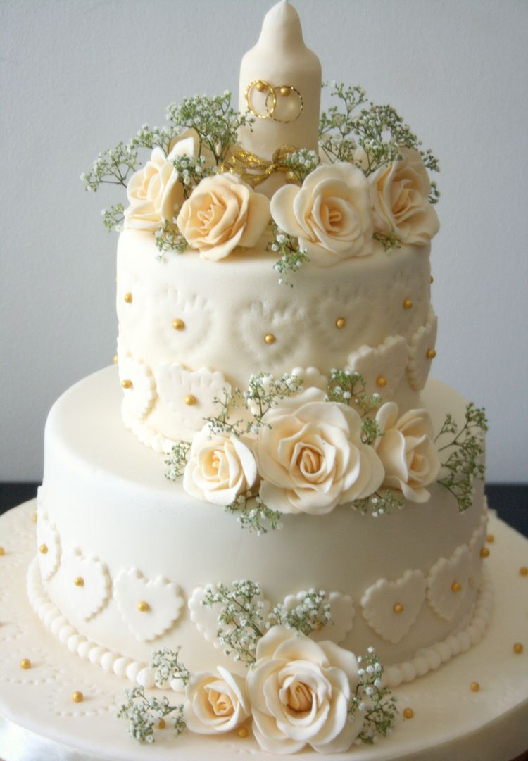 Cake Images For Marriage : Wedding anniversary cake