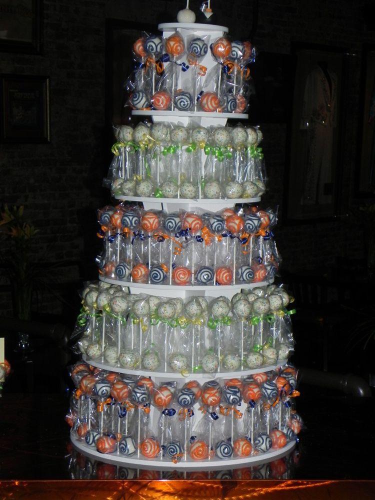 How To Make A Cake Pop Tower