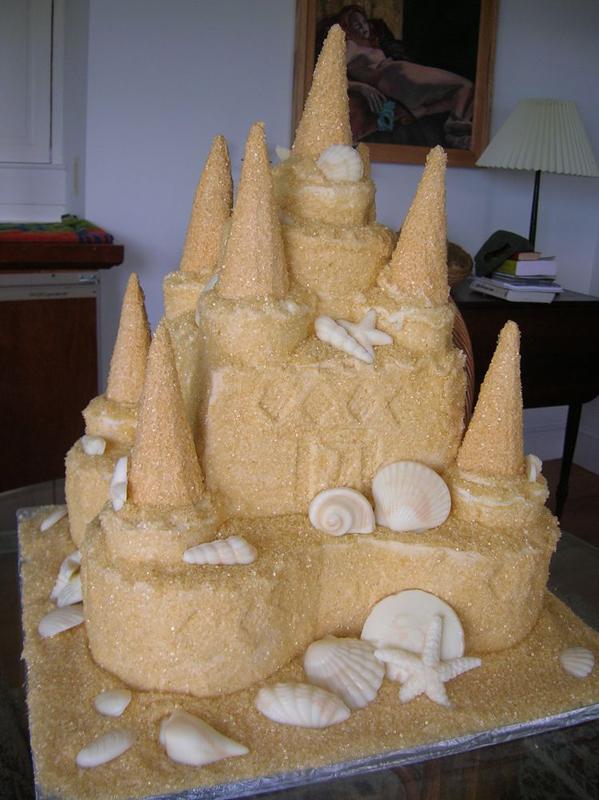 Cake   sand castle