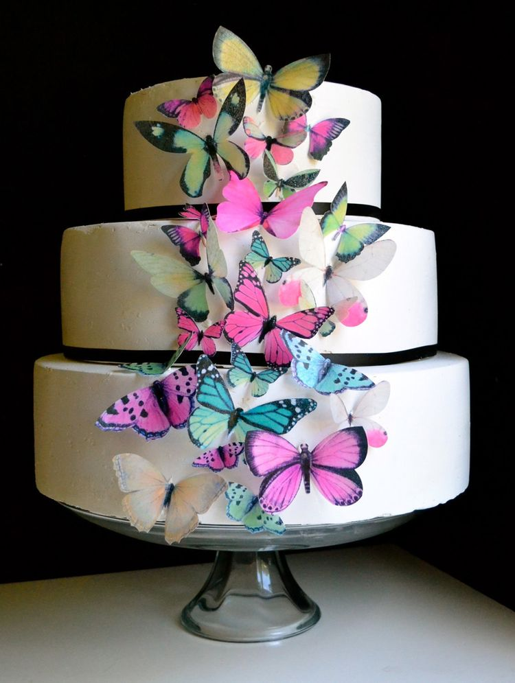 Edible Cake Decorations Butterflies