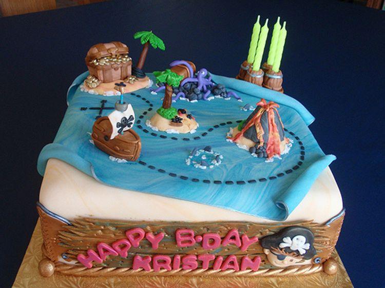 Kristian Pirate Ship Cake