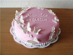 Sweet butterflie's cake
