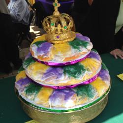 3 tier king cake