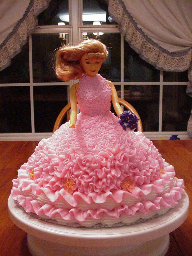Dress Up Angel Food Cake
