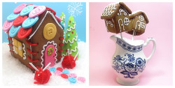 Crazy gingerbread houses