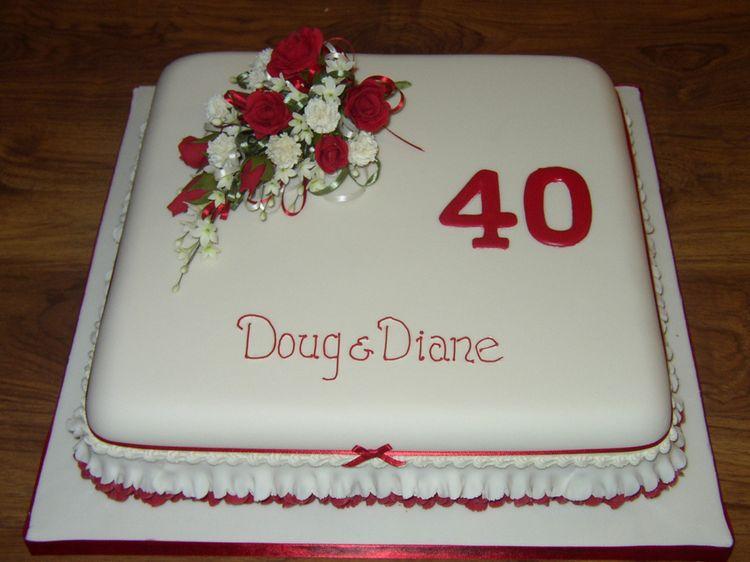 Cute Anniversary Cake Images : Cute anniversary cake