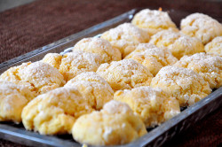 Delicious butter cookies