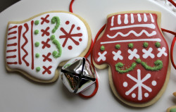 Gingerbread cookies – mittens