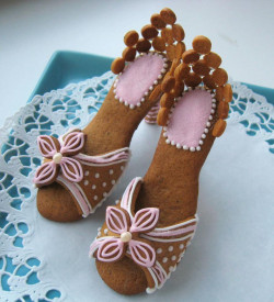 Amazing Gingerbread heels