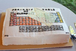 Groom's cake – periodic table