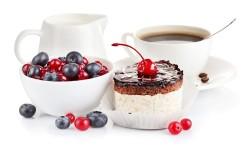 Mini coffee cake