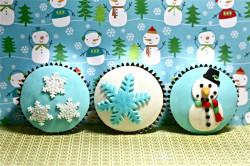 Nice Christmas cupcakes