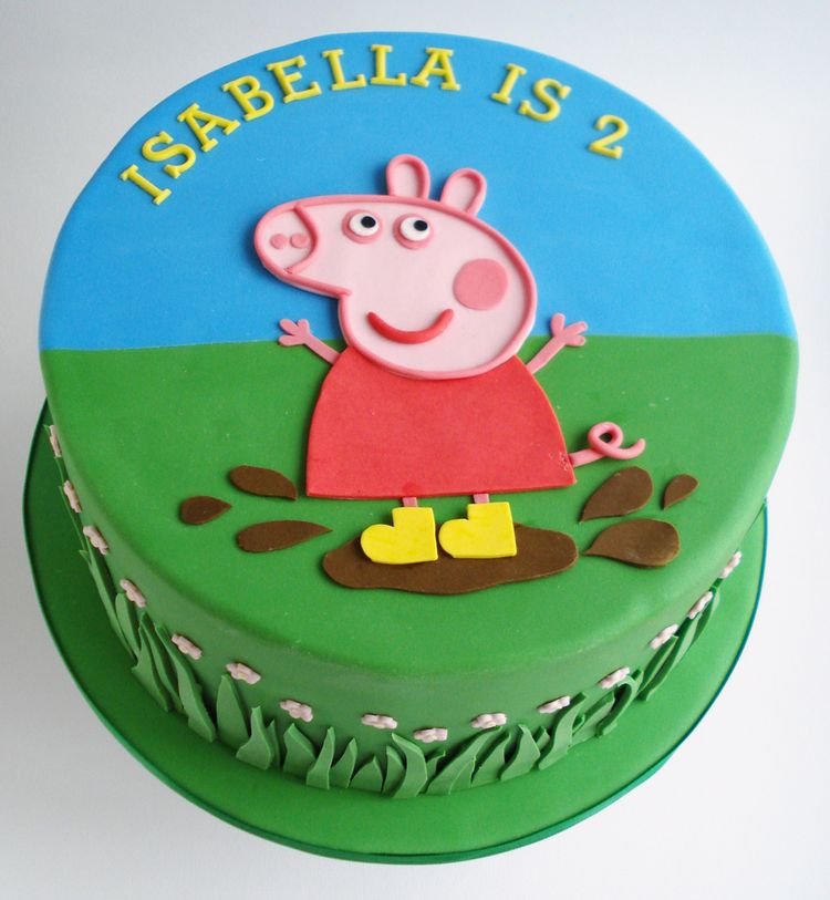 ... Pig Cupcake Toppers Also Peppa Pig Happy Birthday Cake Topper. | Free