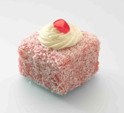 Red Coconut cake