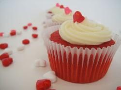 Red velvet cake cupcake