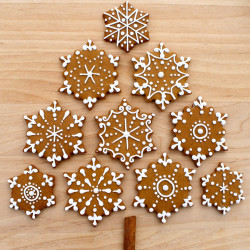 Sweet gingerbread cookies
