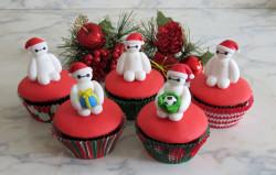 Tasty Christmas cupcakes