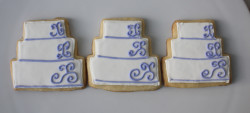 Wedding cookies cakes