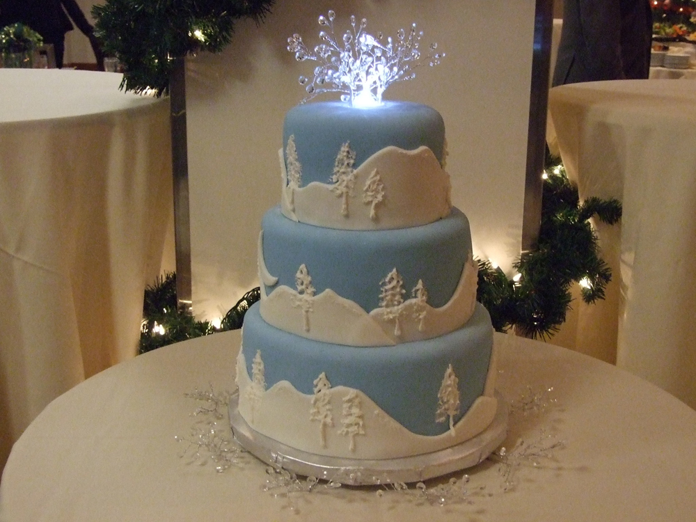 winter wedding cakes pictures winter wedding cake 27563