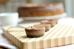 Chocolate cheese cakes