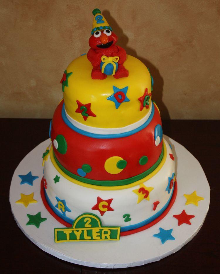 Decorating Ideas > 3 Tier Fondant Birthday Ca ~ 125538_Fondant Cake Ideas Birthday