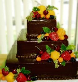 3 tiers fruit cake