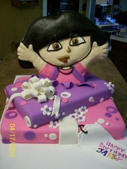 Amazing Dora cake