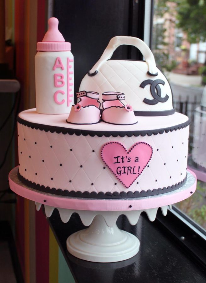 Baby Shower Cake For Girl