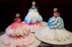 Barbie princess cupcakes