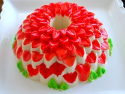 Beautiful jello cake
