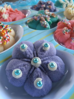 Beautiful spritz cookies