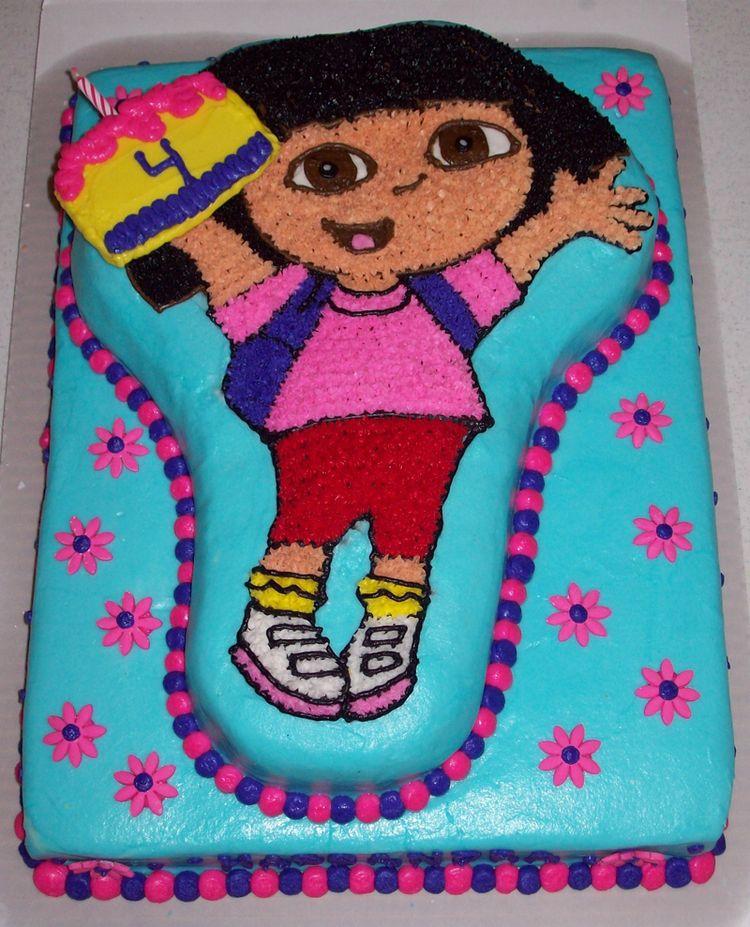 Dora Theme Cake Images
