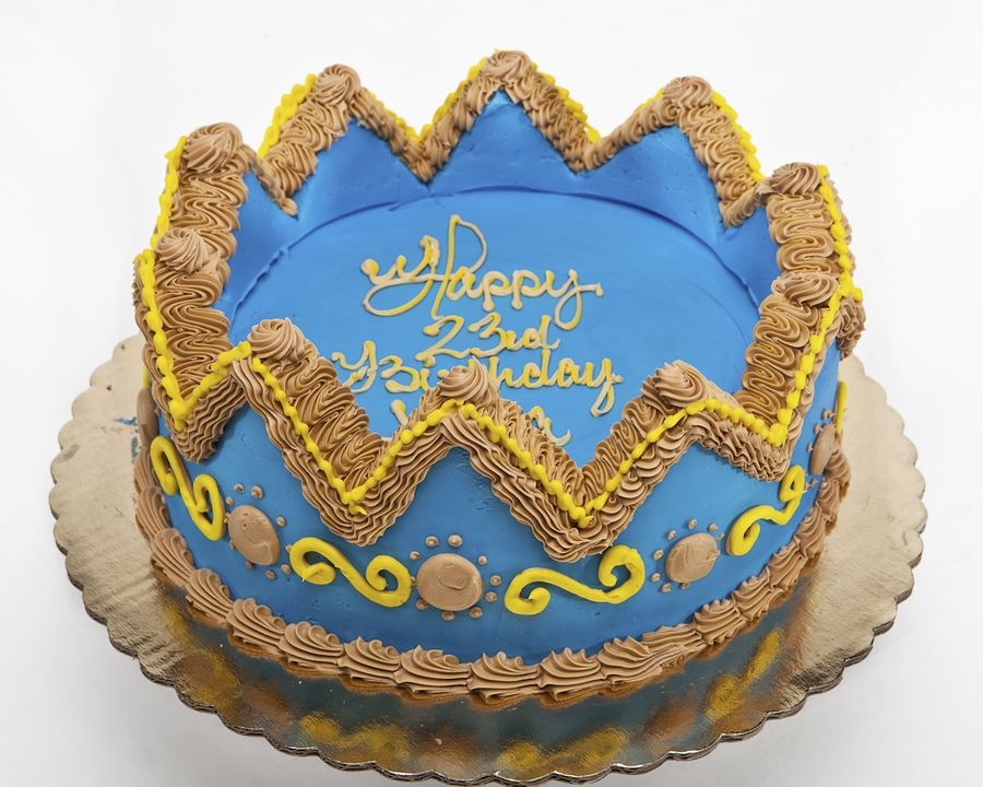 Birthday Cake Crown