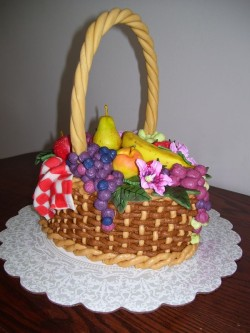 Cake – fruit basket