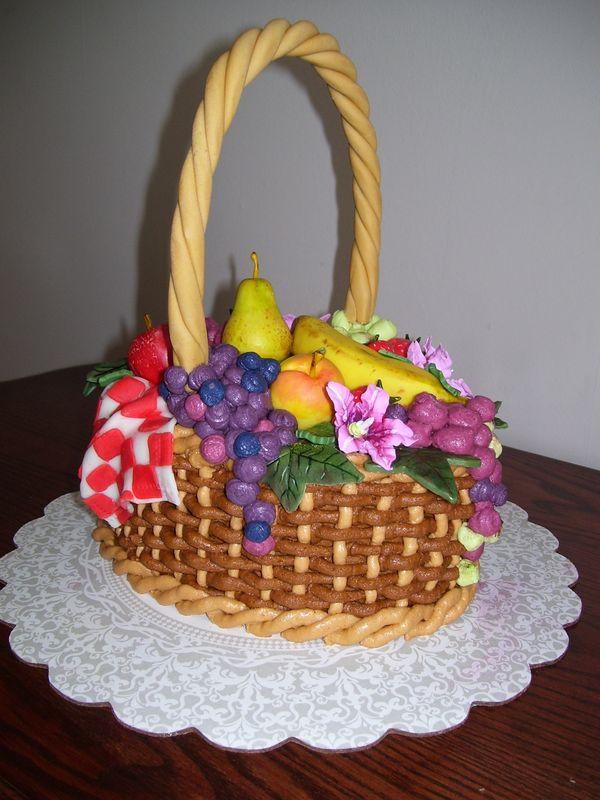 Cake – fruit basket