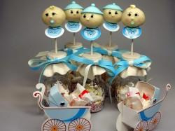 Christening cake pops – babies