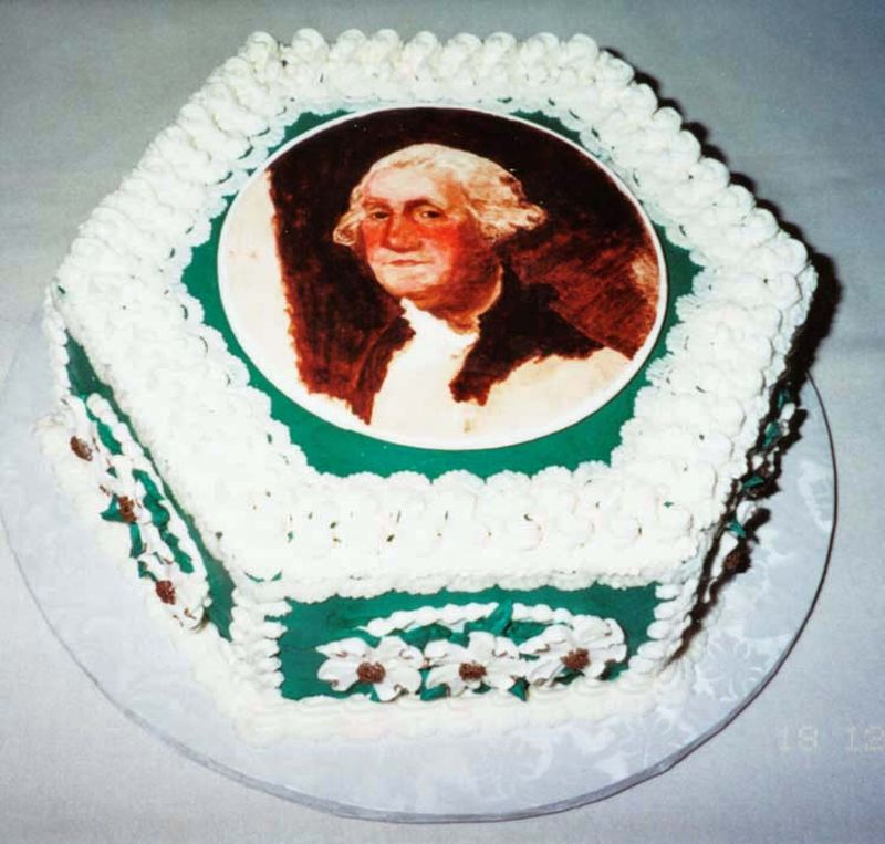 George Washington Cake