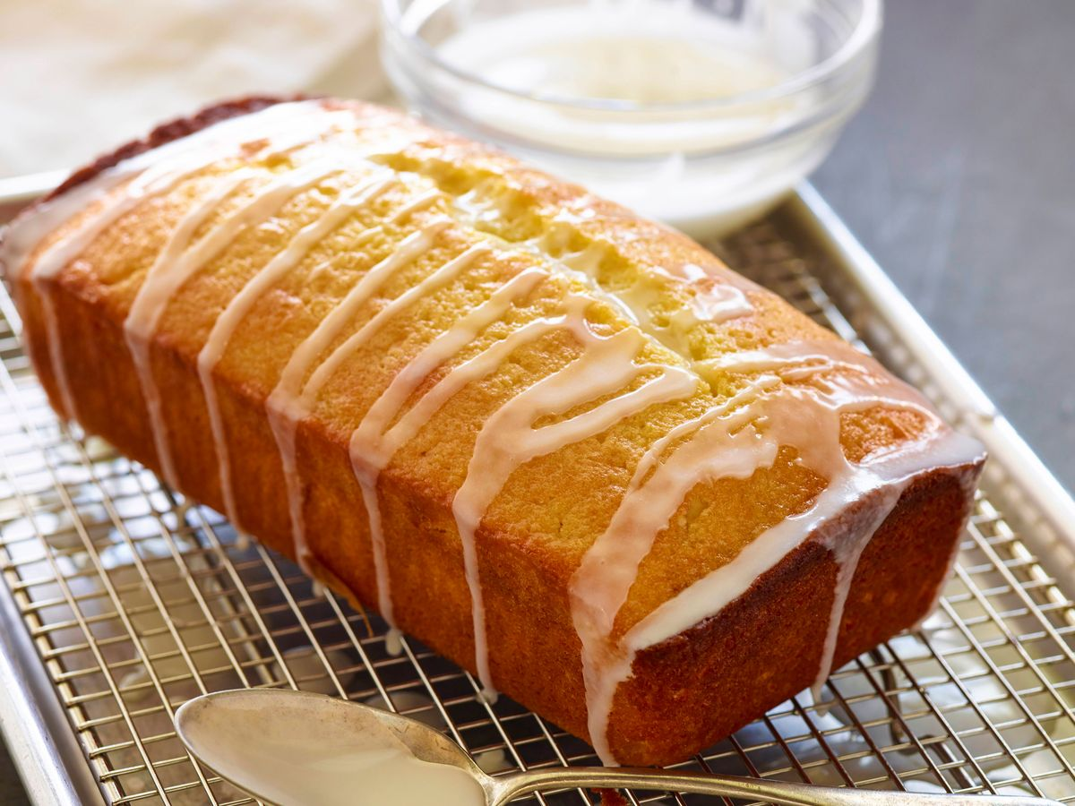 Brown Sugar Lemon Drizzle Cake