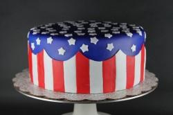 Mr. President day's cake