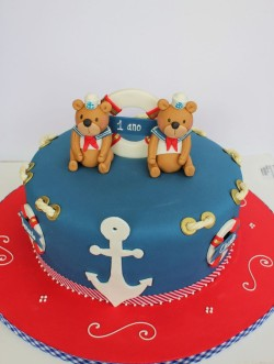 Nautical cake for birthday